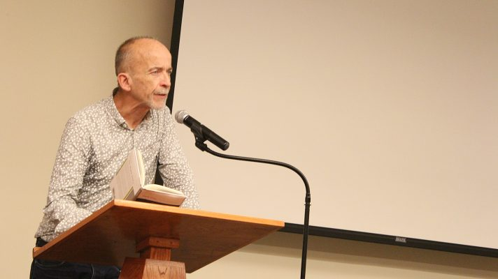 Poet/Professor Mark Doty, Director Rutgers Writers House