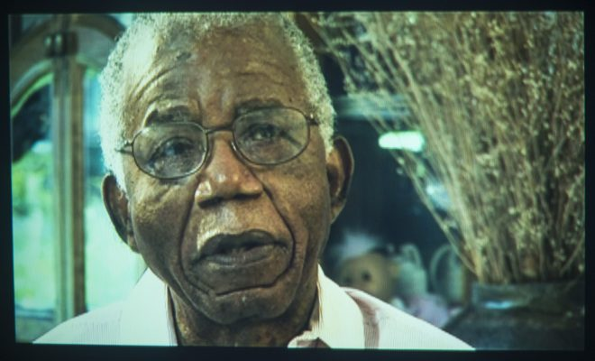 Chinua Achebe at his home, interview Bard College Campus, 28 June 20008