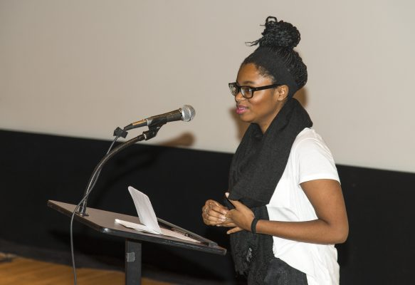 Chochi Ejueyitchie, granddaughter speaks on behalf of the Achebe family