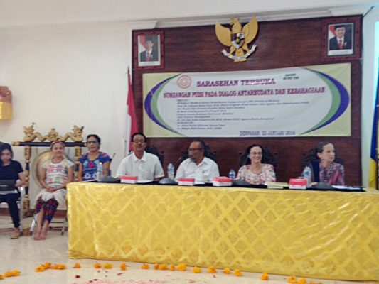 Panel Discussion, Contributions of Poetry to Intercultural Dialogue and Happiness