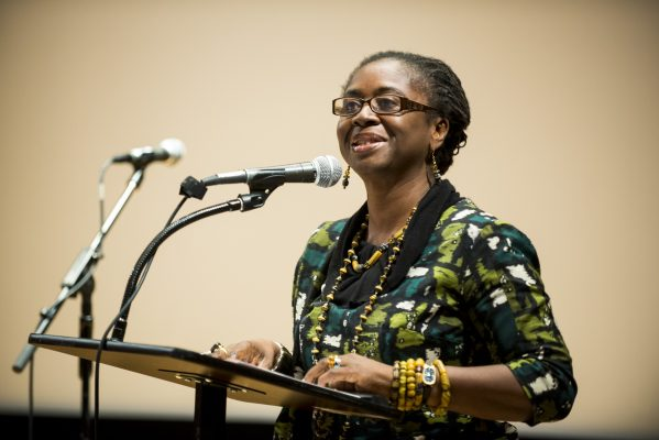 Poet and Professor Abena P.A. Busia, Department of Women's and Gender Studies, Rutgers University