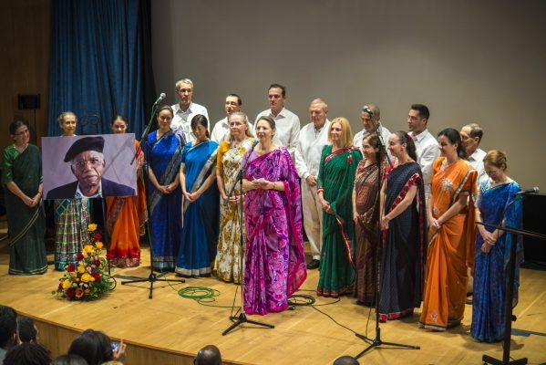 Singers from Sri Chinmoy- The Peace Medition at the United Nations