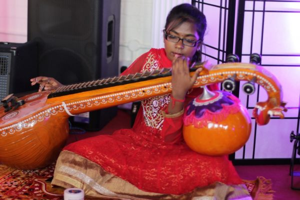 Young Sitar prodigy World Heart Beat Music Academy