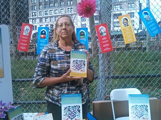 Society of Writers member Diksha Arturi at the Brooklyn Book Fair